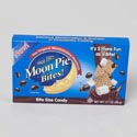 Moon Pie Bites 3.1 Oz Chocolate Only In 72 Pc Shipper Ref # 10636