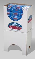 Sponge Scouring 2pk All Purpose In Floor Display