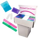 Travel Display 225pcs W/100 Toothbrush Holders/75 2oz Bottle &50 Soap Boxes In Dump Display
