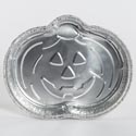 Foil Pumpkin Pan 9.37 X 7.25 Bulk No Label 3053 Gaylord