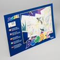 Doodle  Pads 18x12 Inch 36 Ct White