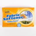 Dryer Sheets 50ct Outdoor Breeze #wapa154