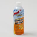 Furniture Polish 12oz Orange Chases Home Value Aerosol # 419-0409