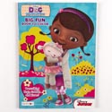 Coloring Book Doc Mcstuffins 96 Pgs In 24 Pc Display Box