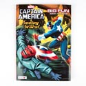 Coloring Book Captain America 96 Pages # 10748-fb