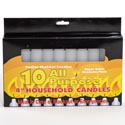 Candles All Purpose 4 Inch 10pk