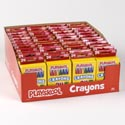 Playskool Crayons 24 Ct Bright/bold Colors Boxed In Pdq