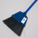 Broom 46.5in 4 Colors Black Bristles W/metal Handle #b001