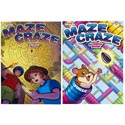 Activity Book Maze Craze 2asst In Pdq Ppd $3.95