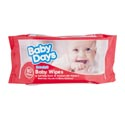 Baby Wipes-80 Sheets Recloseable Soft Pack Made In Usa