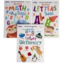Coloring Book-my First-letters/ Numbers/shapes&opposites In Pdq Ppd $3.95