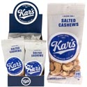 Nuts Salted Cashews 1.5 Oz 12 Pc Counter Display