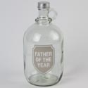 Growler 68oz Glass Father Of The Year (10.00)