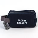 Dopp Bag 5x8 Cotton Canvas Trophy Grandpa (9.50)