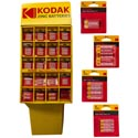 Batteries 198pc Dspl Extra Heavy Duty 5 Assorted Kodak See N2