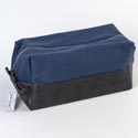 Dopp Bag 5x10 Cotton Canvas Pv Leather Best Man (10.00)