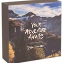 Box Plaque 6x6x2 Wood Your Adventure *14.99*