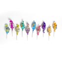Candy Super Blow Pop 432c Ct 6 Asst Flavors Fun House Display 72 Per Flavor