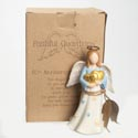 Angel Figurine 50th Anniversary 5.25 Inch Polyresin (8.50)