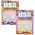 Word Find Usa 96pg 2asst In Pdq Ppd $3.95 Made In Usa