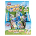 Easter Candy Dubble Bubble Candiful Bubble Gum Egg 2.89oz Counter Display