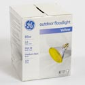 Light Bulb Par38 85w Yellow Ge Outdoor Flood Med Base *6.99* Boxed