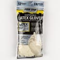 Gloves 12ct Disposable Latex Fits All Firm Grip *2.49* Bagged Ref #13512-26