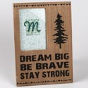 Photo Frame 8x11 Dream Big W/4x6 Opening Mdf (7.00)