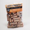 Coin Wrappers - Quarter 36 Count Coin Tubes