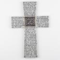 Cross 10in Poly Resin Stone Psalm 23 (13.50) # 1414