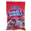 Bubble Gum Dubble Bubble 3 Fruit Flavors Doubletwist Pcs Peg Bag