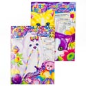Coloring Book- Doodle,design & Create- Lisa Frank 2 Asst 80 Pgs In Counter Display