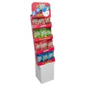 Candy Juicy Twists Shipper 4 Assorted Flavors 5 Oz Bag