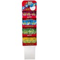 Candy Juicy Twists Sour Bites 5 Oz Bag 4 Asst Flavors In Floor Display