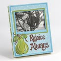 Photo Frame 7.75x10 Rejoice Canvas Wrap W/4x6 Opening (7.50)