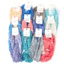 Scarf Window Pane Shimmer Strght Carded 12asst Colors *9.99* Simply Noelle # Bl-scv-5-str