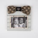 Photo Frame 8.75 X 8.75 With Embellishments 4x6 (7.50) Opening Woonden