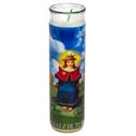 Candle 8in Religious Glass Jar Holy Infant Of Atocha