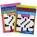 Crossword Puzzle Book Ultimate 2 Asst In Pdq #312 Made In Usa Ppd $4.95
