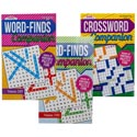 Puzzle Book Companion Wordfind/ Crossword 2asst In Pdq Ppd $3.95
