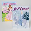 Color/activity Book Magic Princess 2asst In Pdq Ppd $4.95