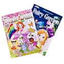 Coloring Book Pixie Dust/fairy Garden 2asst In Pdq Ppd $3.95