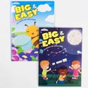 Coloring Book Big & Easy 2asst 80 Pg In Pdq Ppd $4.95