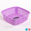 Basket Square Utility Assorted Colors 9.5 X 9.5 X 3.0