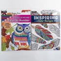 Coloring Book Adult 2 Asst Random Designs In Pdq Ppd $3.95