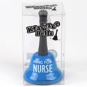 Bell 5.25 X 3 Ring For Nurse Acetate Box Blue (4.50)