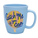 Mug 15oz Ceramic Catch Me If You Can (6.00)