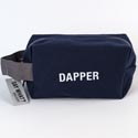 Dopp Bag 5x8 Cotton Canvas Dapper Blue (9.50)