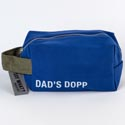 Dopp Bag 5x8 Cotton Canvas Dads Dopp Royal Blue (9.50)