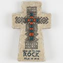 Cross Standing 7.5in Poly Resin Psalm 61:2 (12.00)